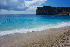 Cala de Ambolo - Javea - Spain. Cala de Ambolo - beach Javea - Spain Stock Photo