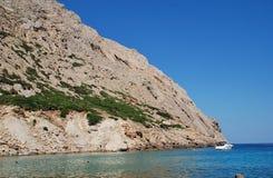 Cala de Boquer en Majorca imagenes de archivo