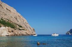 Cala de Boquer on Majorca stock image