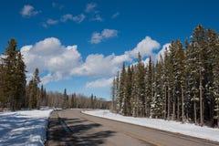 Cala de Bragg, país de Kananaskis, Alberta Foto de archivo