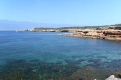 Cala de Comte, Ibiza Fotografering för Bildbyråer