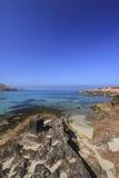 Cala de Comte, Ibiza Royaltyfri Fotografi