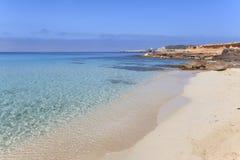 Cala de Comte, Ibiza Arkivfoton