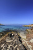 CALA CONTA, IBIZA SPAIN, EIVISSA Royalty Free Stock Photography
