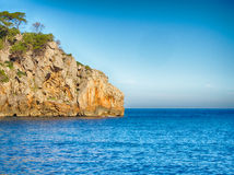 Cala de Deia of Majorca Royalty Free Stock Photography