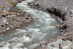 Cala de Kautz en el mt. un parque nacional más lluvioso Foto de archivo