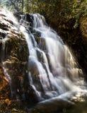 Cala 1 de la cascada fotos de archivo