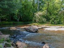 Cala de McGalliard en Valdese, Carolina del Norte fotografía de archivo libre de regalías