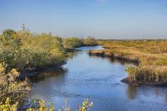 Cala de Merritt Island National Wildlife Refuge Imagenes de archivo