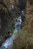 Cala de Predaselj con una primavera fresca azul Fotografía de archivo libre de regalías
