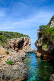 Cala de Rafalet Stock Photo
