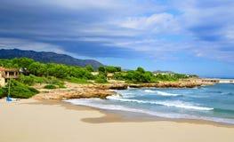 Cala de Sant Jordi in Ametlla de Mar, Spain Royalty Free Stock Image