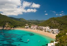 Cala de Sant Vicent Royalty Free Stock Photo