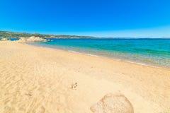 Cala dei Ginepri coast Royalty Free Stock Image