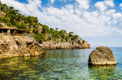 Cala Deia beach Royalty Free Stock Photo