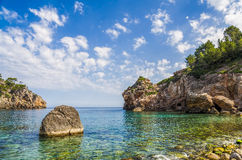 Cala Deia beach Royalty Free Stock Image