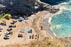 Cala del Barco beach Royalty Free Stock Image