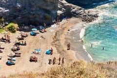 Cala del Barco beach Royalty Free Stock Photo