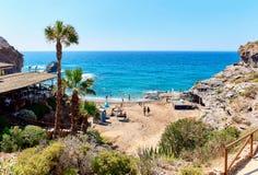 Cala del Barco beach Stock Photography
