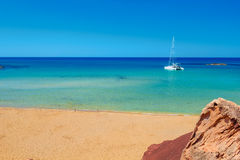 Cala Del Pilar beach Royalty Free Stock Images