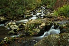 Cala del rugido, Ridge Mountains azul Fotografía de archivo libre de regalías