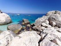 Cala-delle Sorgenti Sardinien Italien Lizenzfreie Stockfotos