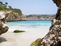 Cala des Moro, Majorca - bay with beach Stock Photo