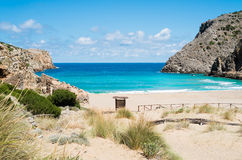 Cala domestica beach Stock Photos