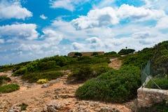 Cala dOr Mallorca Arkivfoto