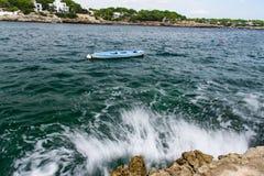 Cala dOr Mallorca Arkivfoton