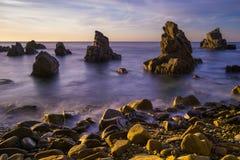 Cala Els Frares. Costa Brava, Spagna. Fotografia Stock Libera da Diritti