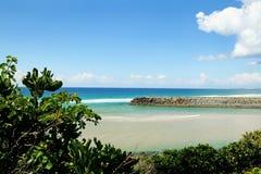 Cala Gold Coast de Tallebudgera Imagen de archivo libre de regalías