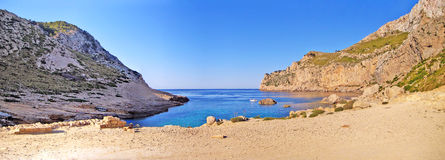 Cala Figuera, the Bay Stock Images