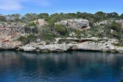 Cala Figuera bay Mallorca,Spain Stock Photos
