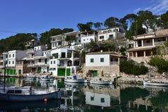 Cala Figuera bay Mallorca,Spain Royalty Free Stock Photography