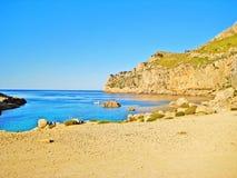 Cala Figuera beach, Majorca, Spain Stock Image