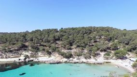 Cala Figuera in the island of Mallorca sc03 stock video