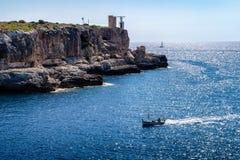 Cala Figuera, Majorca Stockfoto
