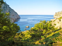 Cala Figuera, Majorca Royalty Free Stock Images