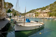 CALA FIGUERA, MALLORCA Royalty Free Stock Images