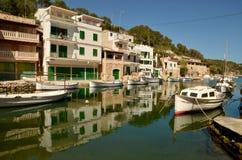 CALA FIGUERA, MALLORCA. BALEARIC ISLANDS, SPAIN - May 6, 2015: Fisherman village Cala Figuera in Mallorca. Cala Figuera, Balearic islands in Spain. Editorial Royalty Free Stock Image