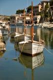 CALA FIGUERA, MALLORCA. BALEARIC ISLANDS, SPAIN - May 6, 2015: Fisherman village Cala Figuera in Mallorca. Cala Figuera, Balearic islands in Spain. Editorial Stock Photo