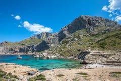 Cala Figuera, Mallorca. Shot from the beautiful Cala Figuera, Mallorca Stock Images
