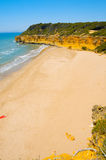 Cala Fonda beach, Tarragona, Spain Royalty Free Stock Photo