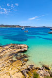 Cala Fornells View in Paguera, Majorca Stock Image