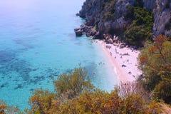 Cala Fuili beach Stock Image