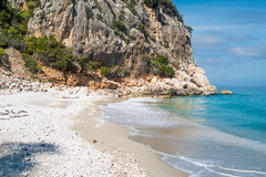 Cala Fuili beach Royalty Free Stock Photography