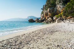Cala Fuili beach Royalty Free Stock Images