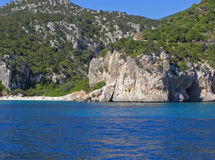 Cala Fuili beach - Sardinia, Italy Royalty Free Stock Photography