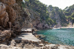 Cala Futadera beach Royalty Free Stock Images